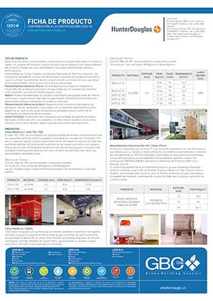 Ficha Certificación Leed Productos Interiores