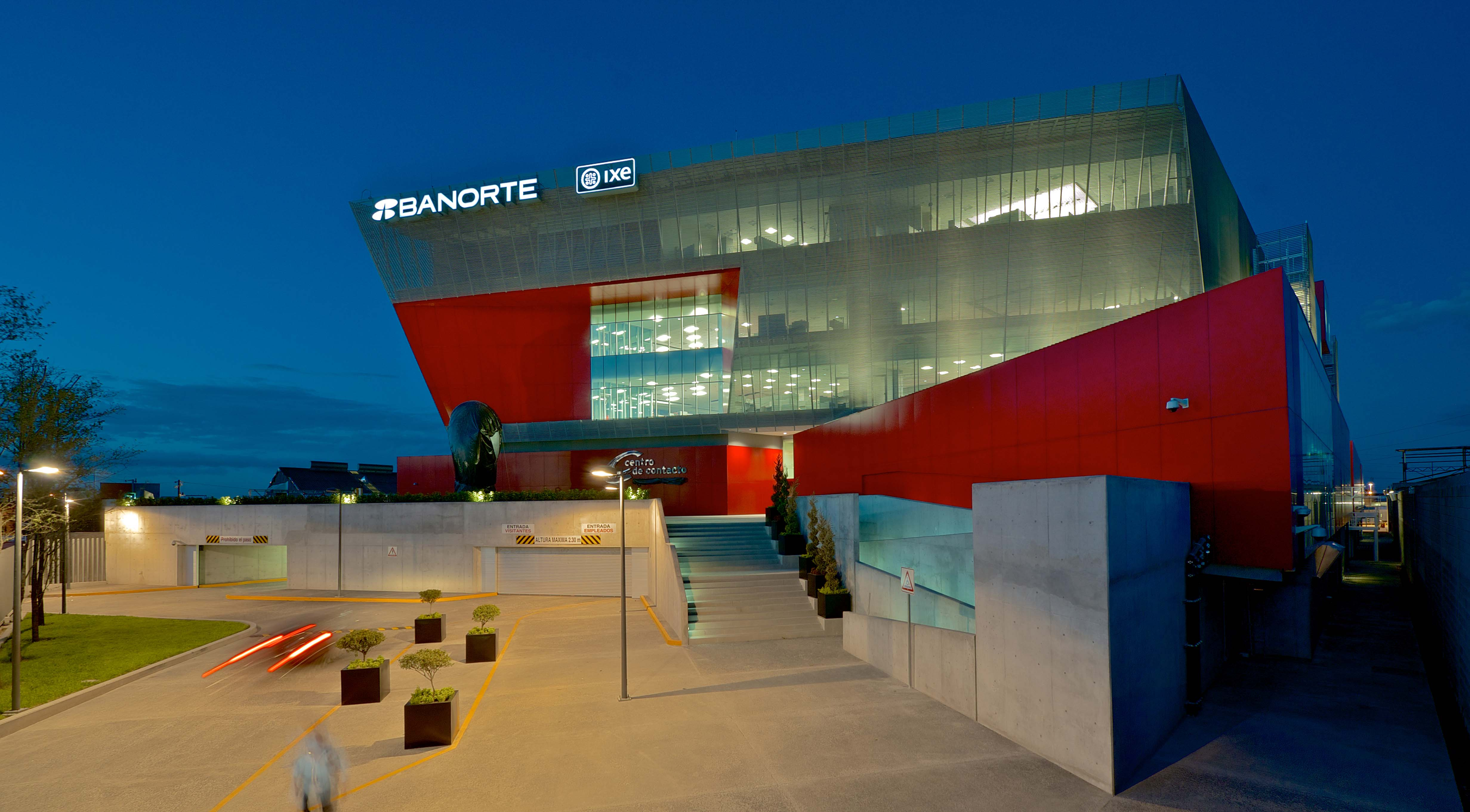 Centro de Contacto Banorte Building in México