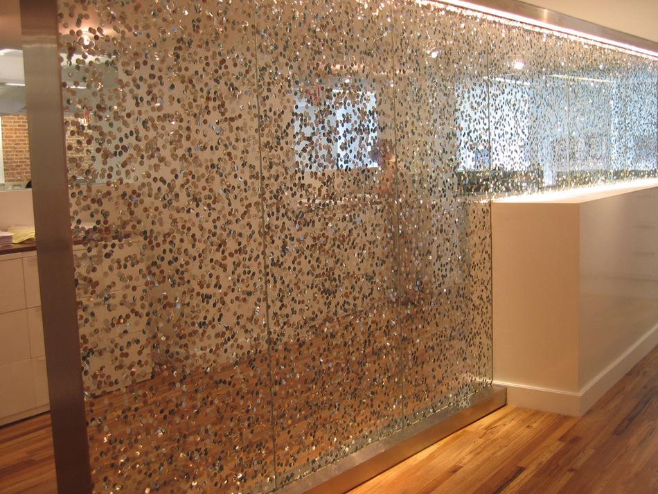 Novedoso producto 3form poured glass enews - Pannelli decorativi murali ...