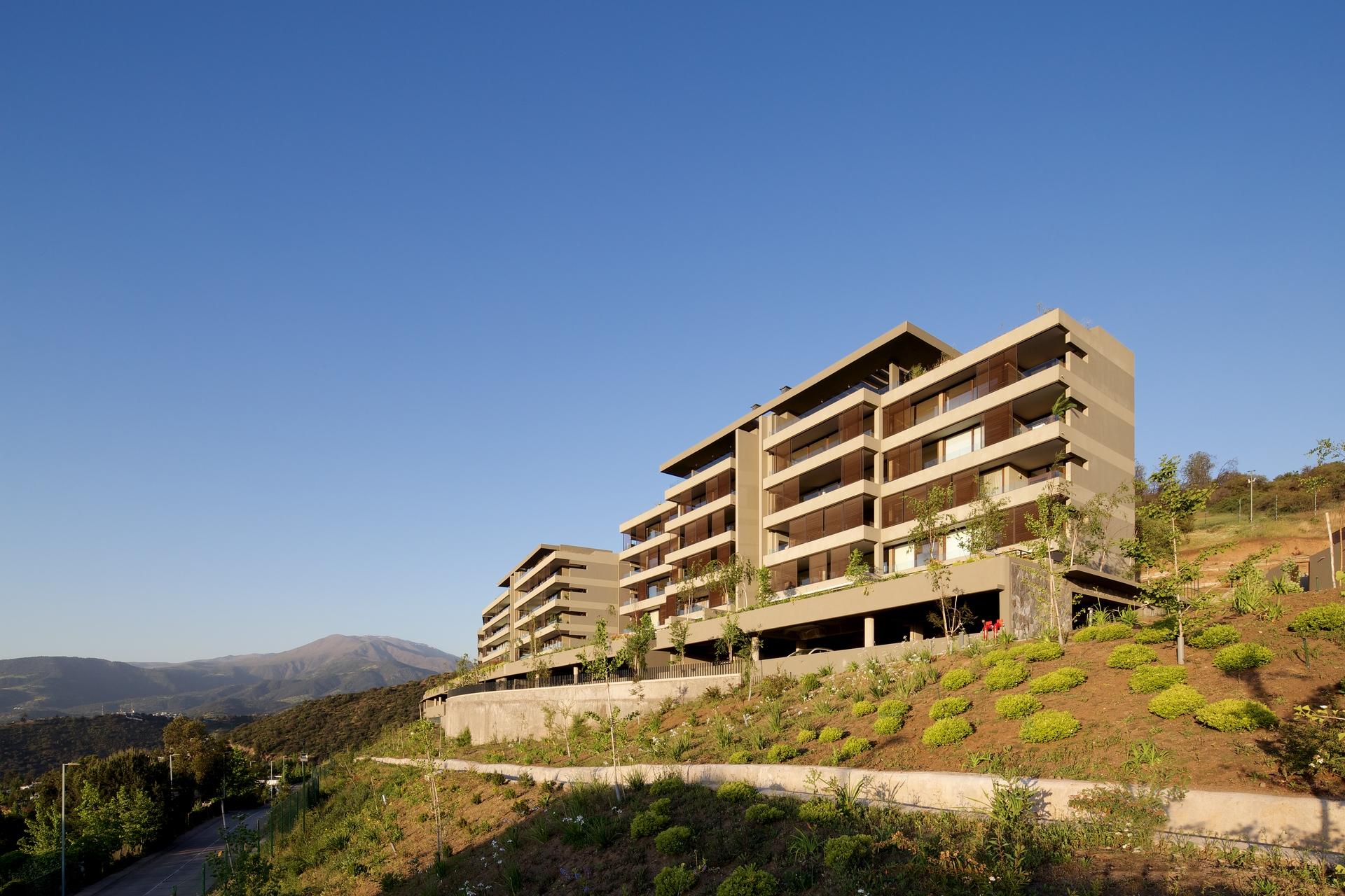 Edificio Quinchamalí de los Andes